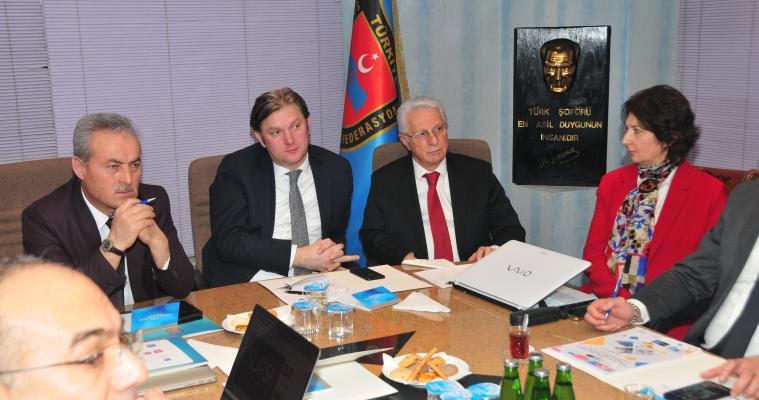 AB ERASMUS+ Projesi Açılış Toplantısı Gerçekleştirildi